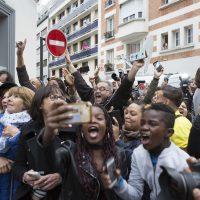 Der Tag vor dem Sieg von Emmanuel Macrons En Marche