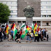 Bürgervereinigung Pro Chemnitz marschiert